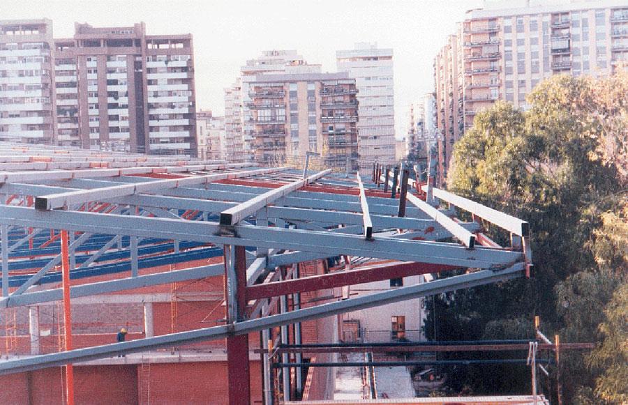 Valencia University pavilion Blasco Ibañez
